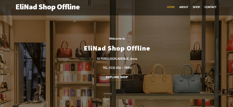 Offline Shop